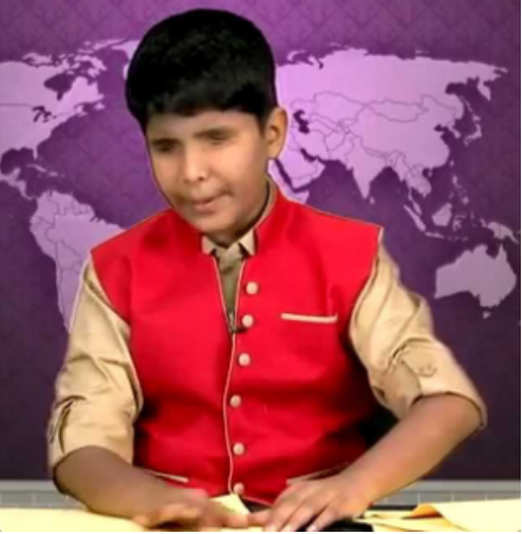 Meet Sriramanujam- World's first visually-impaired news reader from India