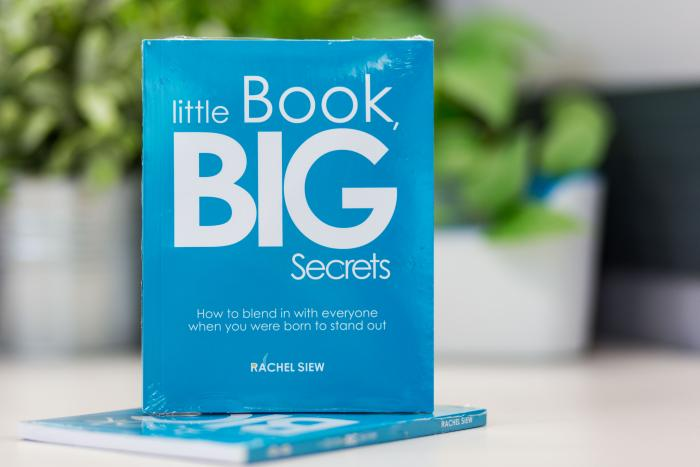 Little Rachel has a BIG Secret to Share
