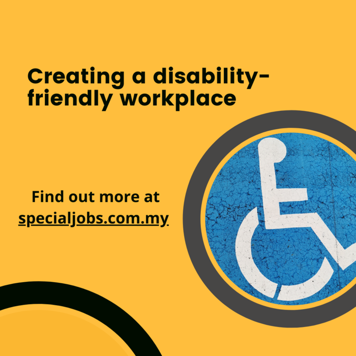 Creating a disability-friendly workplace